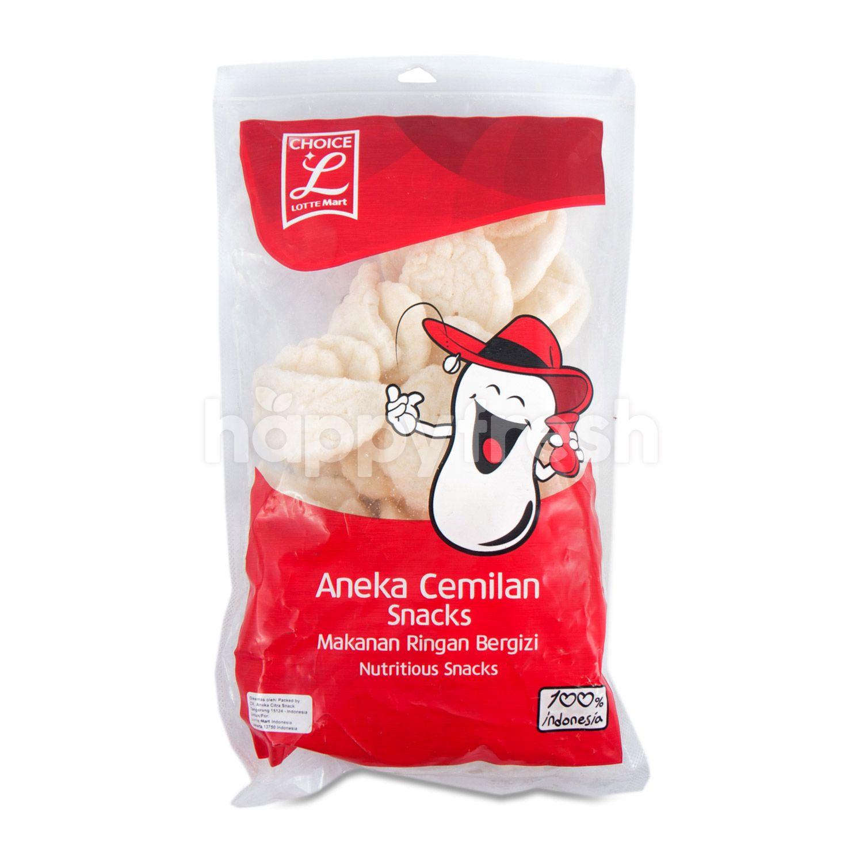 Jual Choice L Small Fish Crackers di Lotte Mart - HappyFresh