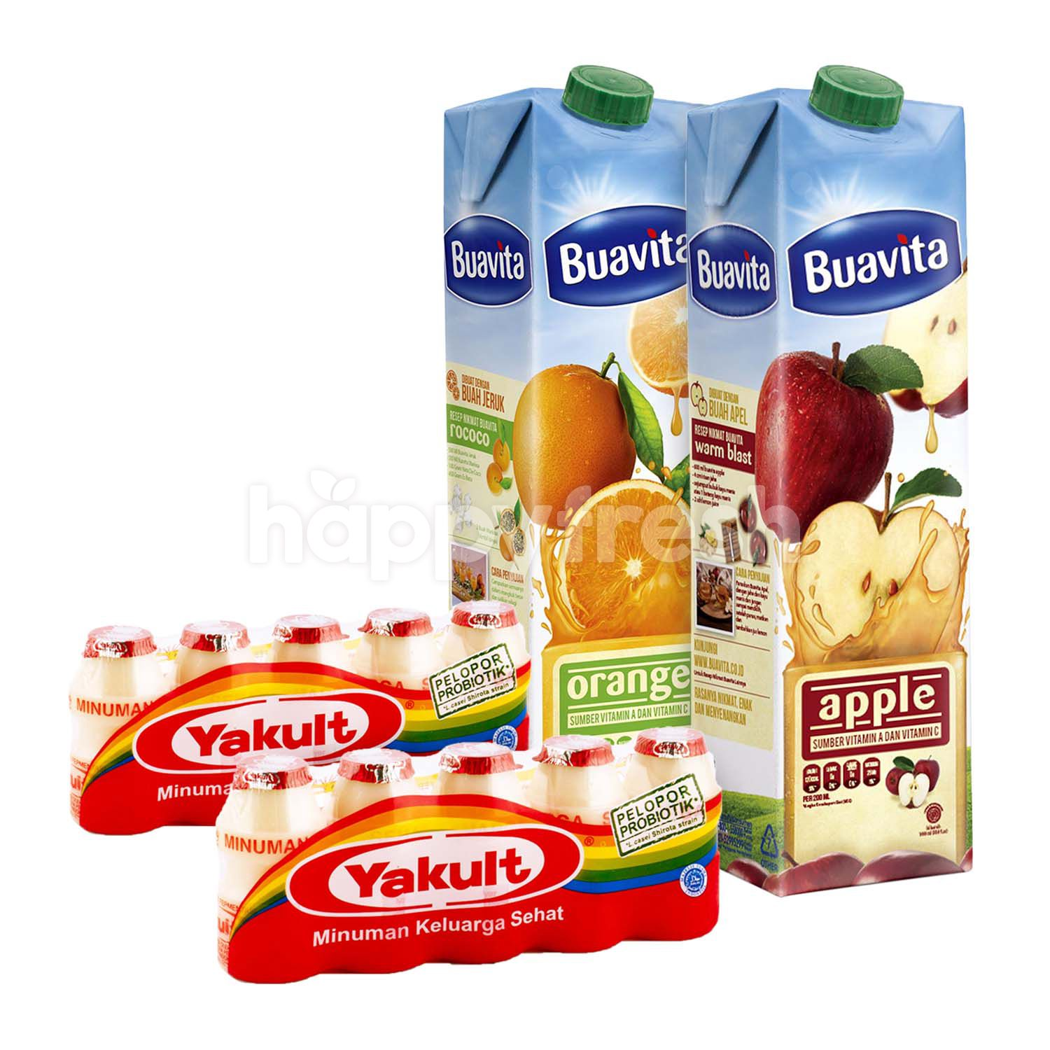 Buavita Yakult Package Happyfresh